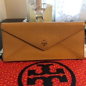 Tory Burch Nude Clutch
